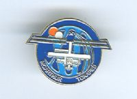 Expedition 12 ISS International Space Station Mission Lapel Pin Official NASA